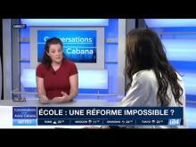 i24NEWS Français   Conversations  Les enfants daujourdhui nont pas le sens de leffort Anne Sophie N