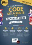Code de la route en candidat libre