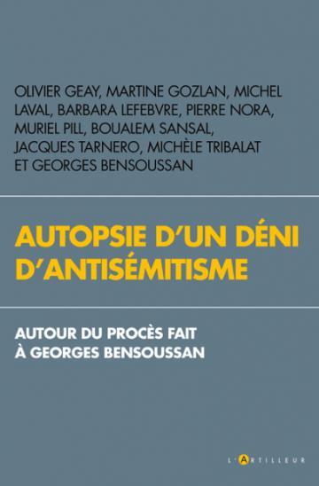 Autopsie d'un déni d'antisémitisme