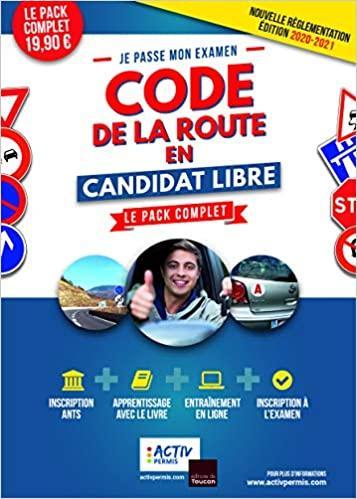 code de la route candidat libre